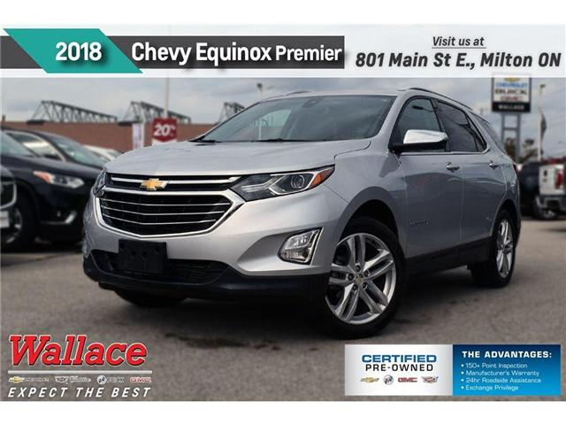 2018 Chevrolet Equinox PREMIER/LOADED!/SUNRF/NAV/HTD&CLD STS/HTD WHL (Stk: 304642A) in Milton - Image 1 of 22