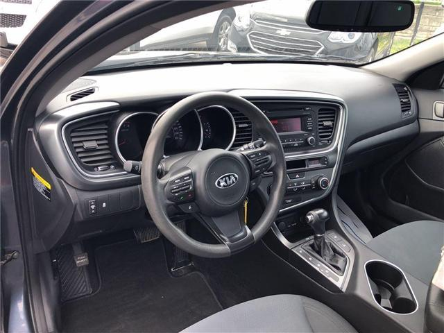 2014 Kia Optima LX|Heated seats|Bluetooth| (Stk: 159197A) in BRAMPTON - Image 9 of 20