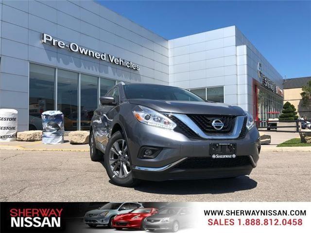 2017 Nissan Murano  (Stk: P5493) in Toronto - Image 1 of 12
