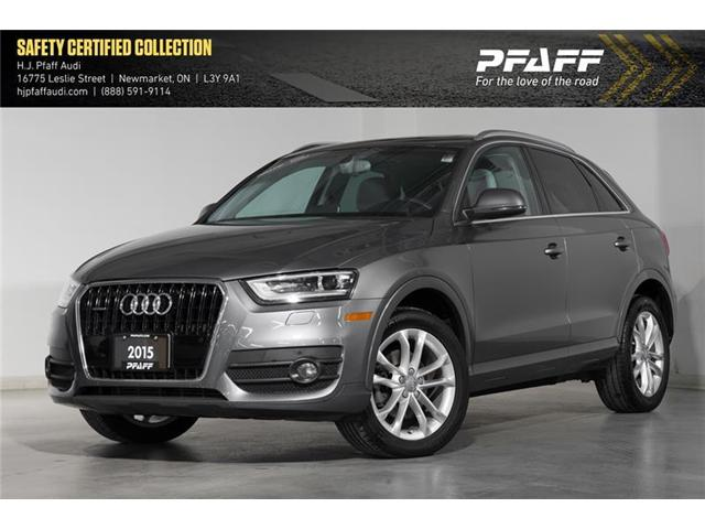 2015 Audi Q3 2.0T Technik (Stk: A11623A) in Newmarket - Image 1 of 18