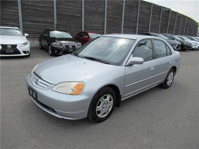 2001 Honda Civic LX-G (Stk: 78047A) in Toronto - Image 10 of 11
