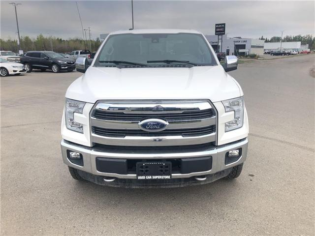 2016 Ford F-150 Lariat (Stk: 3458) in Thunder Bay - Image 8 of 23