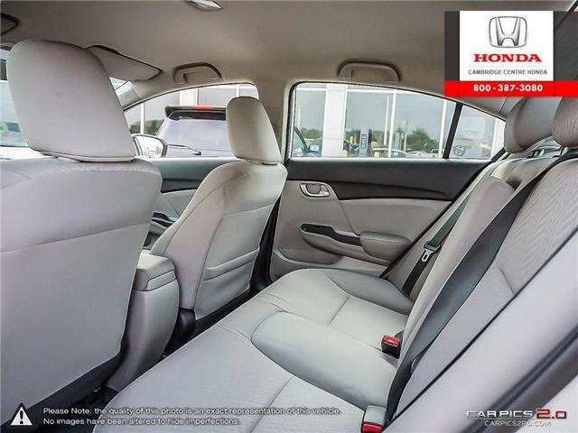 2014 Honda Civic LX (Stk: 18897W) in Cambridge - Image 23 of 25