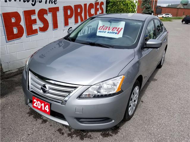 2014 Nissan Sentra 1.8 S (Stk: 18-552T) in Oshawa - Image 1 of 15