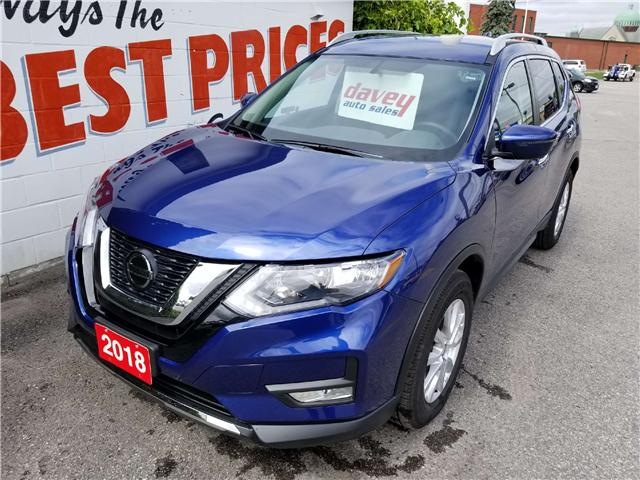 2018 Nissan Rogue SV (Stk: 18-549) in Oshawa - Image 1 of 16