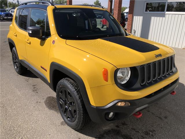 2018 Jeep Renegade Trailhawk (Stk: 13679) in Fort Macleod - Image 7 of 20
