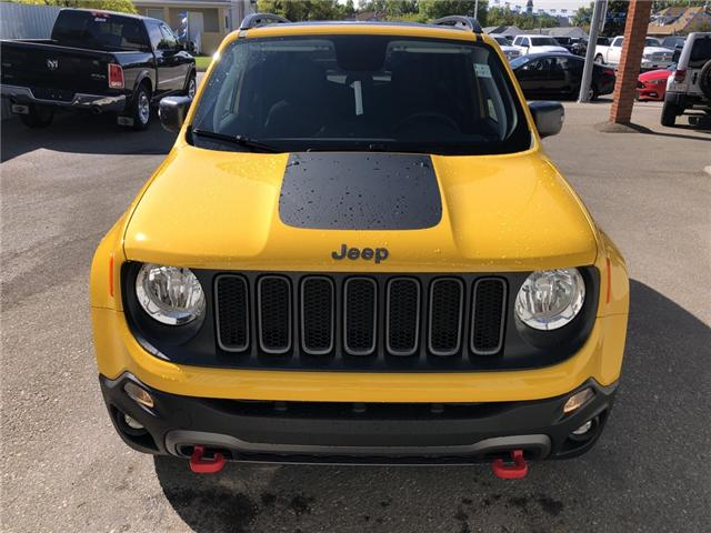 2018 Jeep Renegade Trailhawk (Stk: 13679) in Fort Macleod - Image 8 of 20