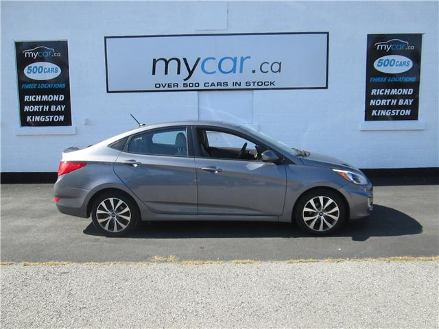 2017 Hyundai Accent SE (Stk: 181214) in North Bay - Image 1 of 14