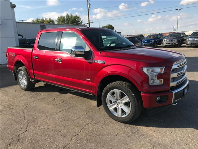 2017 Ford F-150 Platinum (Stk: 7377) in Wilkie - Image 1 of 23