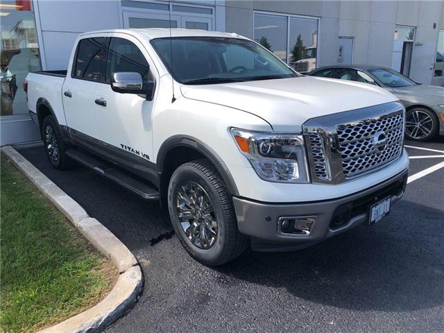 2018 Nissan Titan Platinum (Stk: 18328) in Barrie - Image 1 of 4