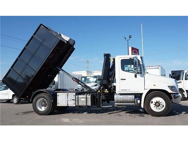 2017 Hino 338 -  w/ Hiab 088 Crane & XR7 Multilift - (Stk: HLTW10651) in Barrie - Image 8 of 20