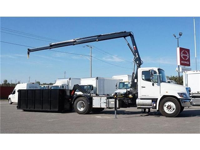 2017 Hino 338 -  w/ Hiab 088 Crane & XR7 Multilift - (Stk: HLTW10651) in Barrie - Image 13 of 20