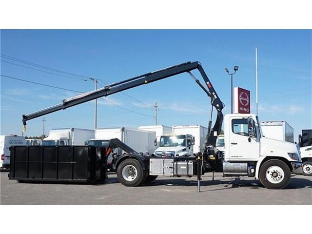 2017 Hino 338 -  w/ Hiab 088 Crane & XR7 Multilift - (Stk: HLTW10651) in Barrie - Image 15 of 20