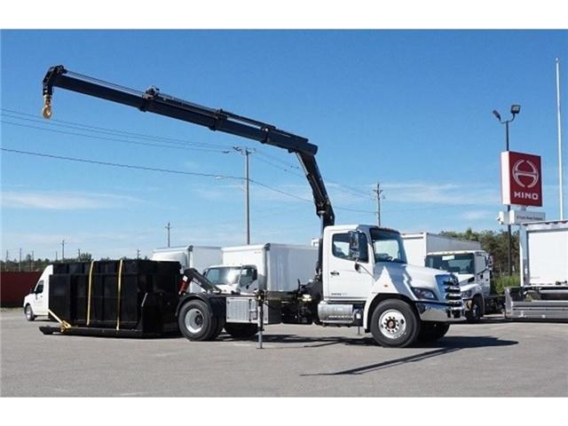 2017 Hino 338 -  w/ Hiab 088 Crane & XR7 Multilift - (Stk: HLTW10814) in Barrie - Image 2 of 13