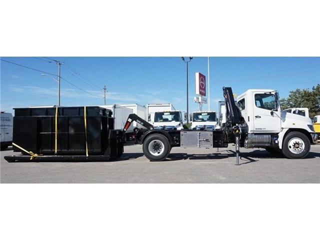 2017 Hino 338 -  w/ Hiab 088 Crane & XR7 Multilift - (Stk: HLTW10814) in Barrie - Image 6 of 13