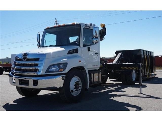 2017 Hino 338 -  w/ Hiab 088 Crane & XR7 Multilift - (Stk: HLTW10814) in Barrie - Image 8 of 13