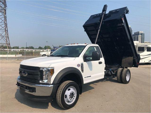 2018 Ford F-550 Lease Special 2018 Ford F550 With Dump (Stk: DTG18360) in Toronto - Image 1 of 13