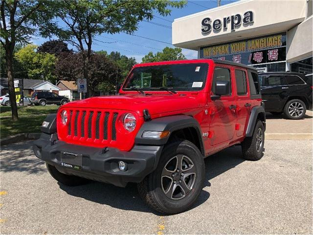 2018 Jeep Wrangler Unlimited Sport (Stk: 184113) in Toronto - Image 1 of 18