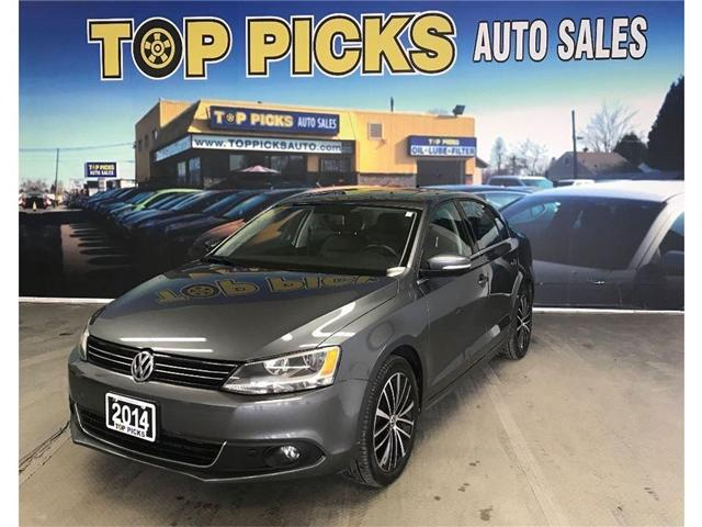 2014 Volkswagen Jetta 1.8 TSI Highline (Stk: 267858) in NORTH BAY - Image 1 of 16