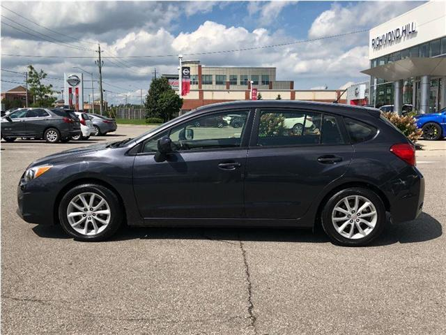 2014 Subaru Impreza 2.0i Touring Package (Stk: P03705) in RICHMOND HILL - Image 2 of 22