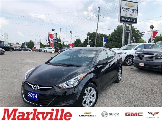 2014 Hyundai Elantra GL- CERTIFIED PRE-OWNED- 1 OWNER TRADE (Stk: 304495A) in Markham - Image 1 of 17