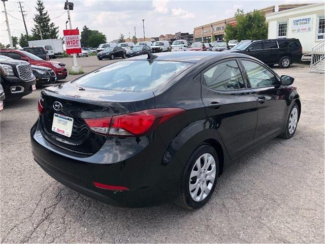 2014 Hyundai Elantra GL- CERTIFIED PRE-OWNED- 1 OWNER TRADE (Stk: 304495A) in Markham - Image 5 of 17