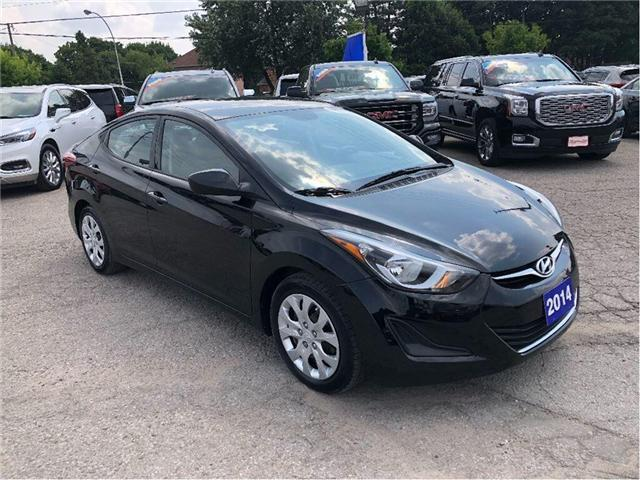 2014 Hyundai Elantra GL- CERTIFIED PRE-OWNED- 1 OWNER TRADE (Stk: 304495A) in Markham - Image 7 of 17