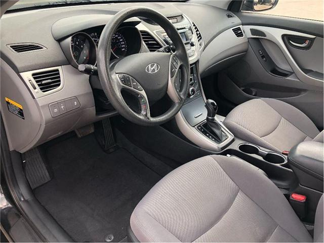 2014 Hyundai Elantra GL- CERTIFIED PRE-OWNED- 1 OWNER TRADE (Stk: 304495A) in Markham - Image 9 of 17