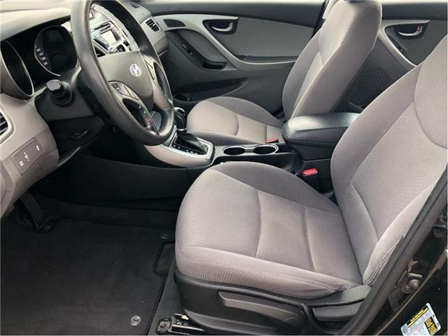 2014 Hyundai Elantra GL- CERTIFIED PRE-OWNED- 1 OWNER TRADE (Stk: 304495A) in Markham - Image 10 of 17