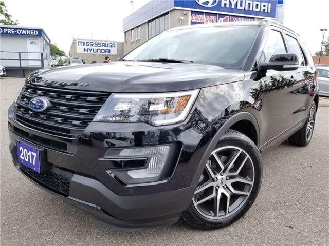 2017 Ford Explorer Sport-6 pass-Navi-Leather-Sunroof AS BRAND NEW (Stk: 38503A) in Mississauga - Image 1 of 30