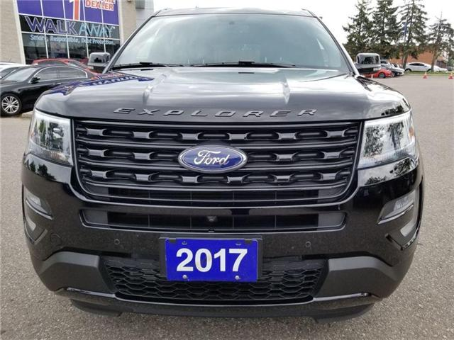 2017 Ford Explorer Sport-6 pass-Navi-Leather-Sunroof AS BRAND NEW (Stk: 38503A) in Mississauga - Image 2 of 30