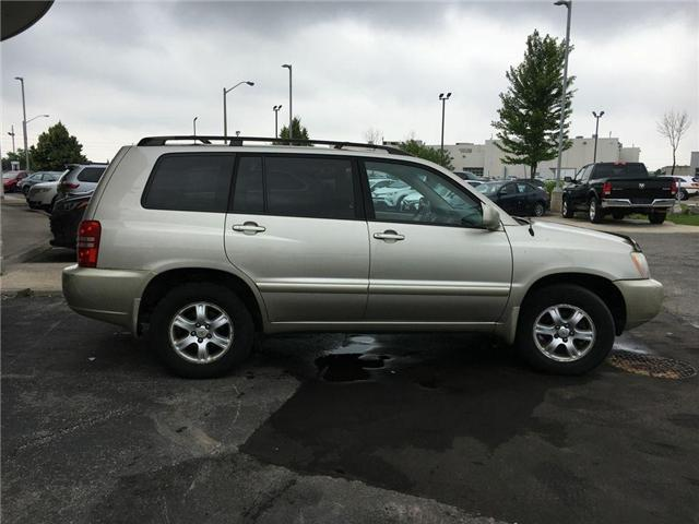 2003 Toyota Highlander BOXING DAY ONLY 4WD V6 B PKG LEATHER, ALLOY WHEELS (Stk: 41100A) in Brampton - Image 23 of 23