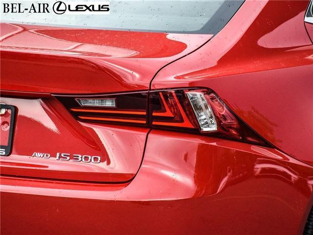 2016 Lexus IS 300 Base (Stk: L0401) in Ottawa - Image 9 of 30