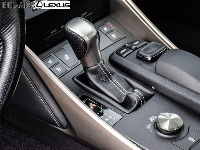 2016 Lexus IS 300 Base (Stk: L0401) in Ottawa - Image 12 of 30