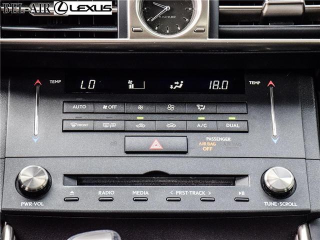 2016 Lexus IS 300 Base (Stk: L0401) in Ottawa - Image 17 of 30