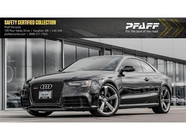 2013 Audi RS5 4.2 S tronic qtro Coupe (Stk: P11209A) in Vaughan - Image 1 of 21