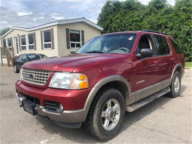2002 Ford Explorer Eddie Bauer (Stk: 18-7063PA) in Hamilton - Image 1 of 20