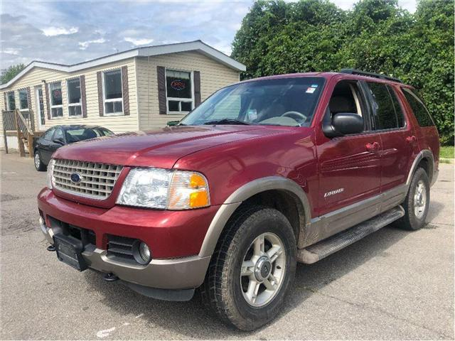 2002 Ford Explorer Eddie Bauer (Stk: 18-7063PA) in Hamilton - Image 2 of 20