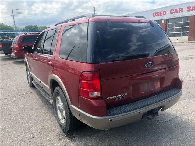 2002 Ford Explorer Eddie Bauer (Stk: 18-7063PA) in Hamilton - Image 4 of 20