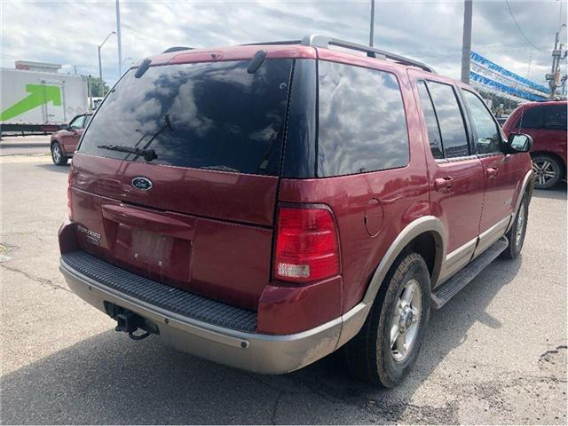 2002 Ford Explorer Eddie Bauer (Stk: 18-7063PA) in Hamilton - Image 6 of 20