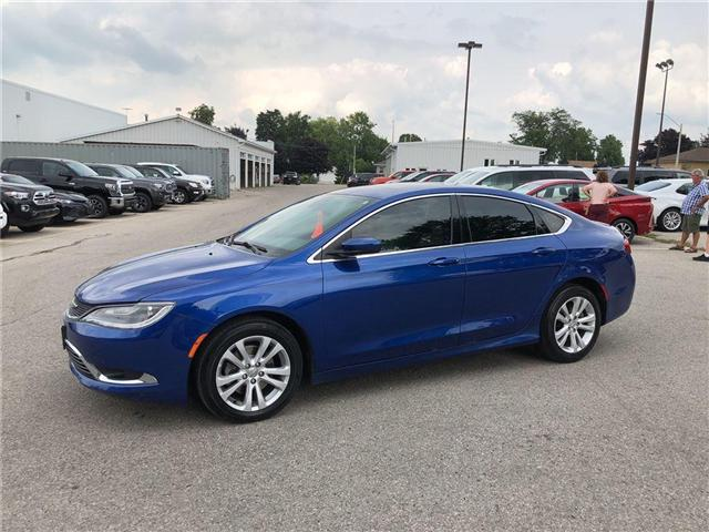 2015 Chrysler 200 Limited (Stk: U19718) in Goderich - Image 1 of 17