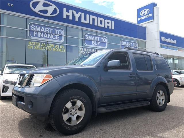 2007 Nissan Pathfinder  (Stk: P1299A) in Woodstock - Image 1 of 30