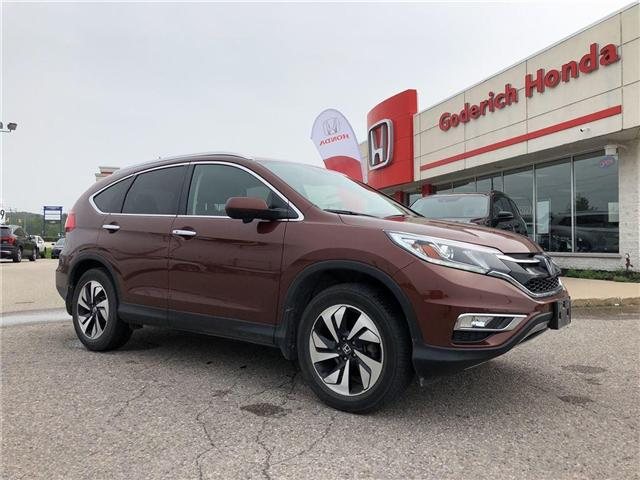 2015 Honda CR-V Touring (Stk: U11918) in Goderich - Image 2 of 14