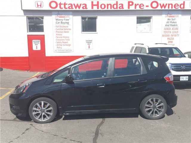 2013 Honda Fit Sport (Stk: H6917-0) in Ottawa - Image 1 of 19