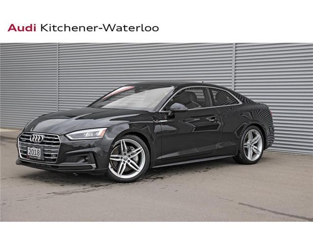 2018 Audi A5 2.0T Technik (Stk: A51820) in Kitchener - Image 1 of 21