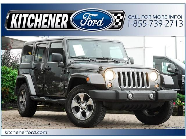 2018 Jeep Wrangler JK Unlimited Sahara (Stk: 145470R) in Kitchener - Image 1 of 18