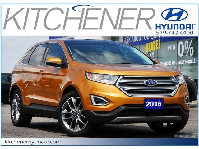 2016 Ford Edge Titanium (Stk: 58090A) in Kitchener - Image 1 of 12