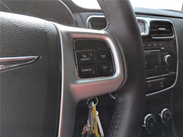 2014 Chrysler 200 Touring (Stk: -) in Bolton - Image 14 of 23