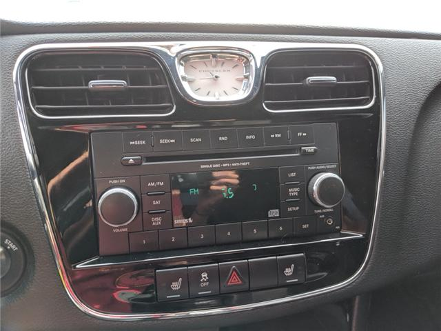 2014 Chrysler 200 Touring (Stk: -) in Bolton - Image 19 of 23