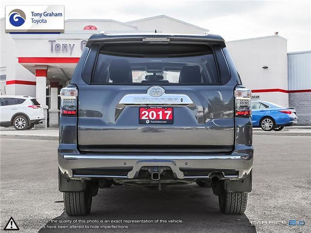 2017 Toyota 4Runner SR5 (Stk: U8989) in Ottawa - Image 5 of 29
